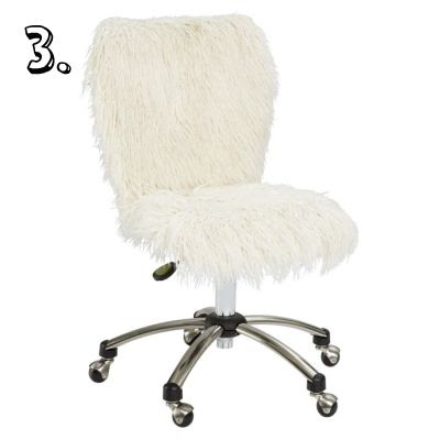 Super Cute Desk Chairs- Not Boring I Promise! - Live Nest Love