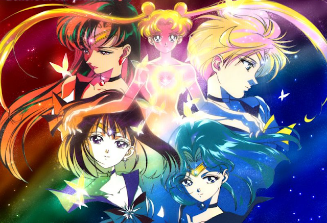 Sailor Moon Sailor Uranus Sailor Neptune Sailor Pluton Sailor Saturne