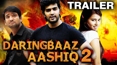 Daringbaaz Aashiq 2 2016 Hindi Dubbed   300mb, south india movie Daringbaaz Aashiq 2 2016 hindi dubbed  dvdrip compressed small size 300mb free download or watch online at world4ufree.be