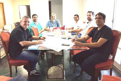 Prefeito Geraldino Júnior anunciou extensão de rede de esgoto e novo reservatório de água