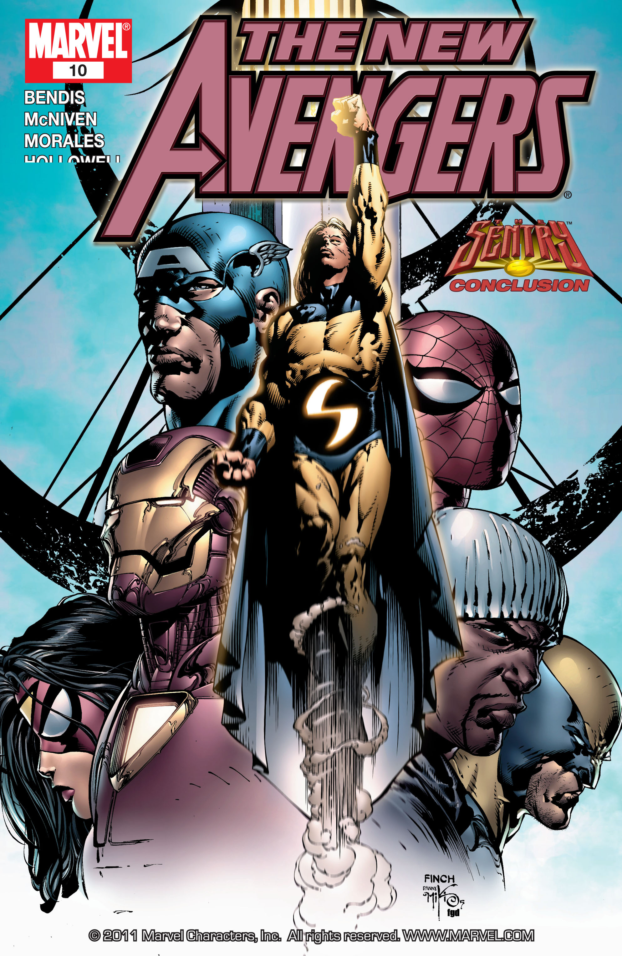 New Avengers (2005) issue 10 - Page 1