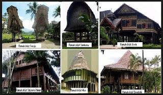 Rumah Adat Unik Di Indonesia, Keunikan Desain Bentuk Rumah Adat, Budaya Arsitektur