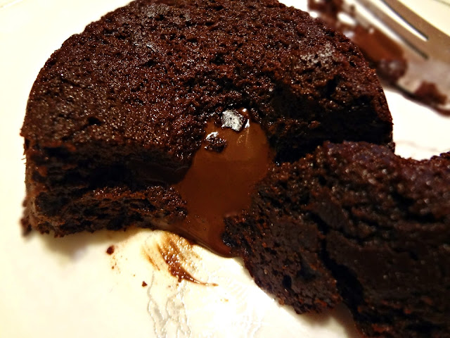 Flourless Chocolate Lava Cake