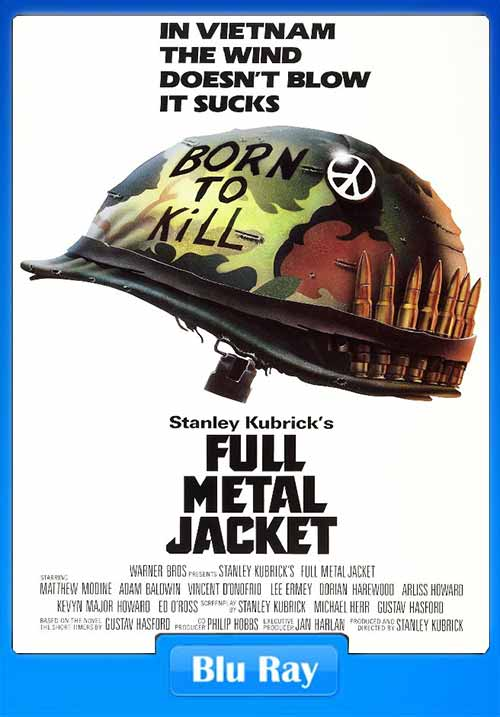 Full Metal Jacket 1987 BRRip 480p 300MB x264 Poster