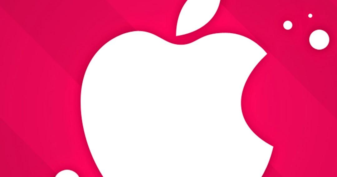 Free Wallpaper Phone: Iphone 6 Plus Pink Apple Logo Wallpapers