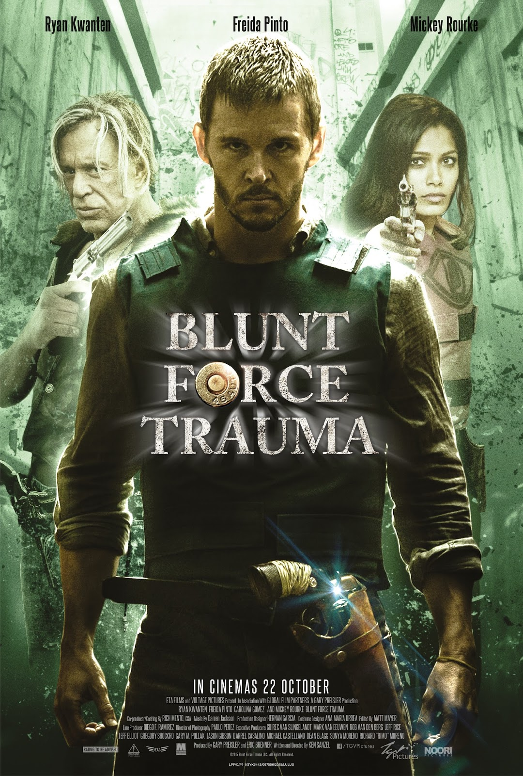 MOVIE REVIEW: BLUNT FORCE TRAUMA (2015) ~ GOLLUMPUS