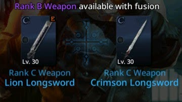 Darkness Rises: Fusing Weapons