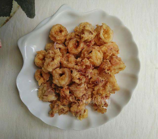 resepi sotong goreng tepung