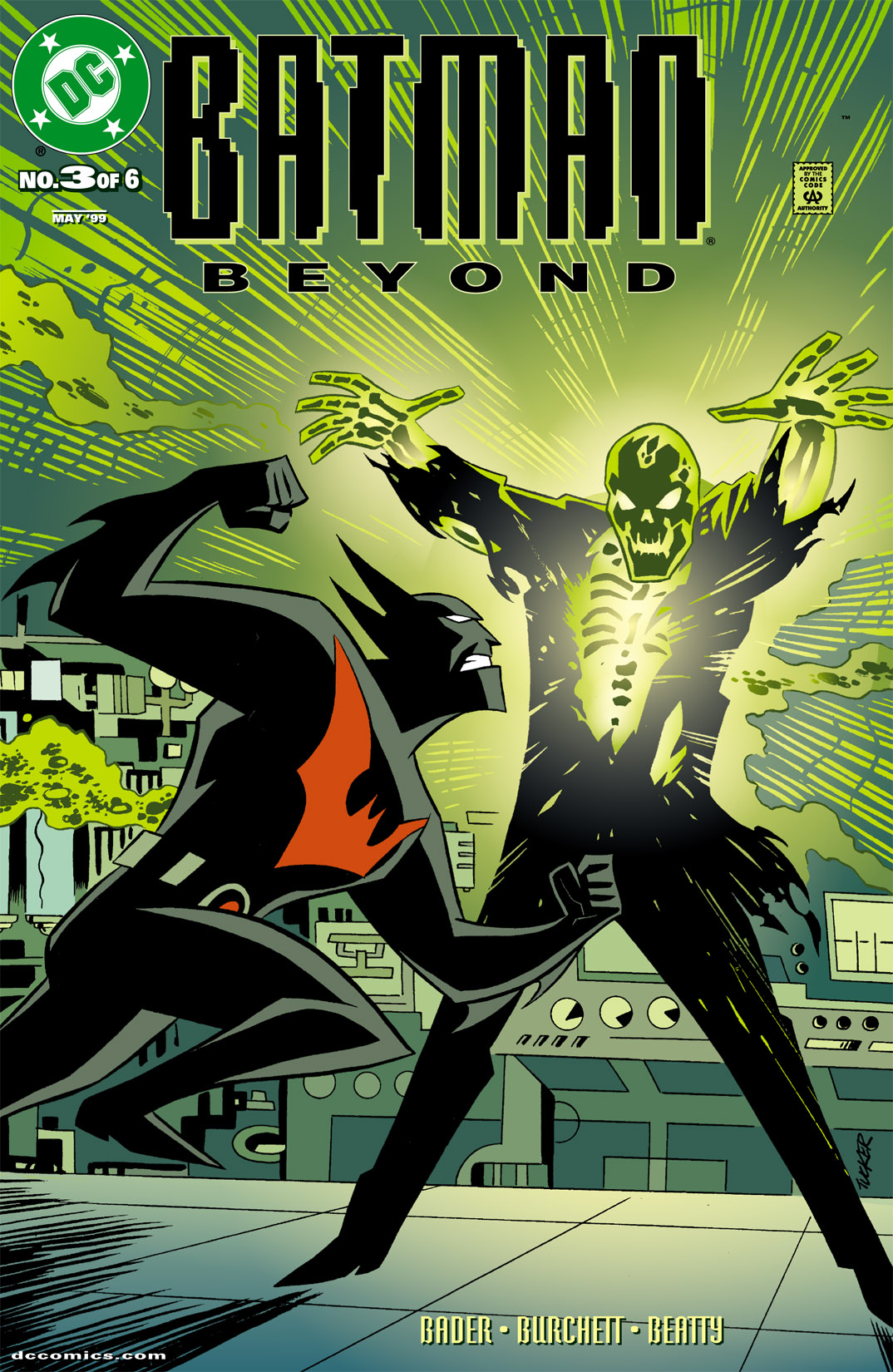 Batman Beyond [I] 3 Page 1