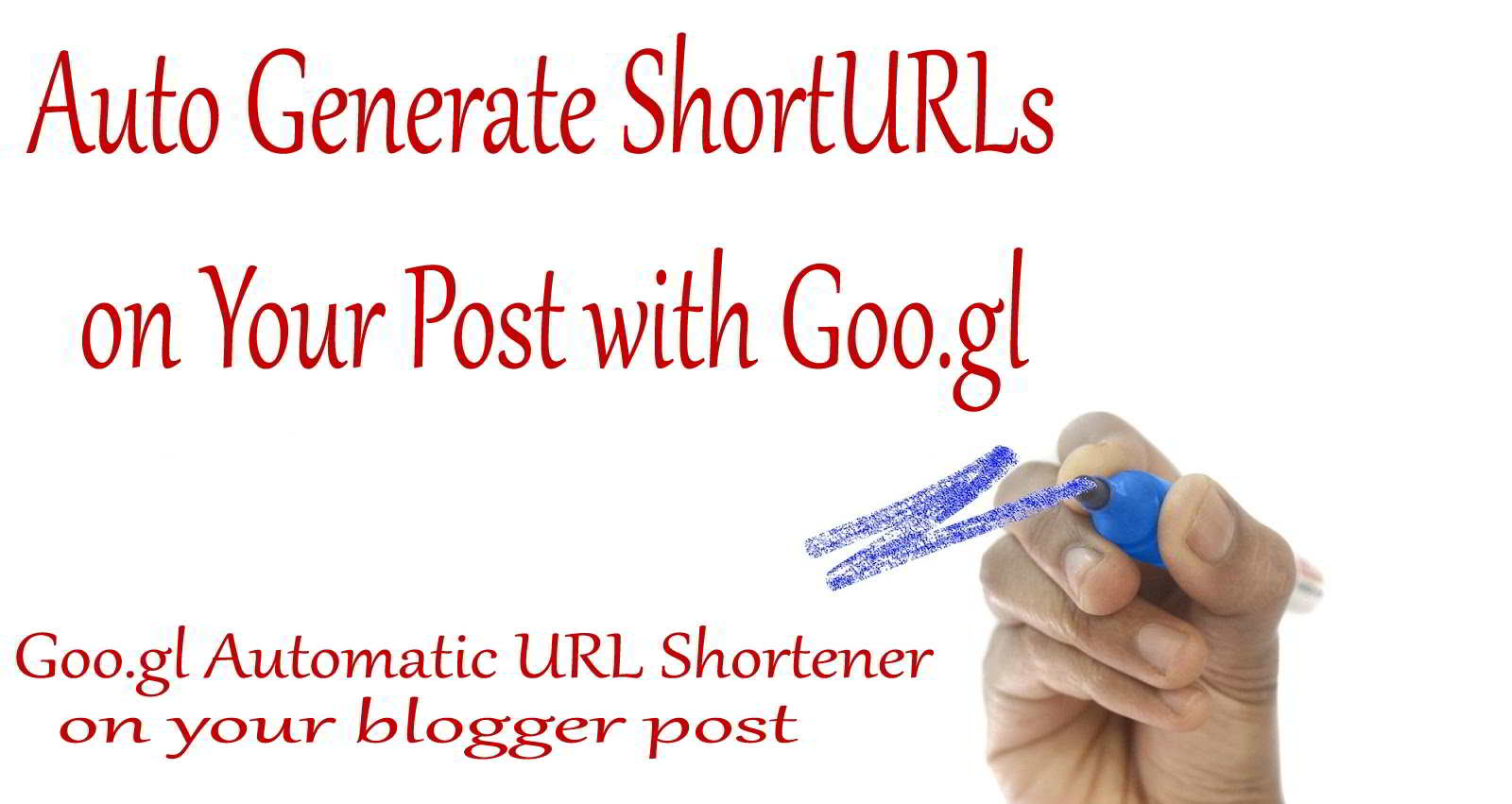 Tutorial: Very easy How to Make Auto Generate Short URLs of Your Posts, Create Google Short URLs in Blogger with Goo.gl, I will explain with a complete, step by step