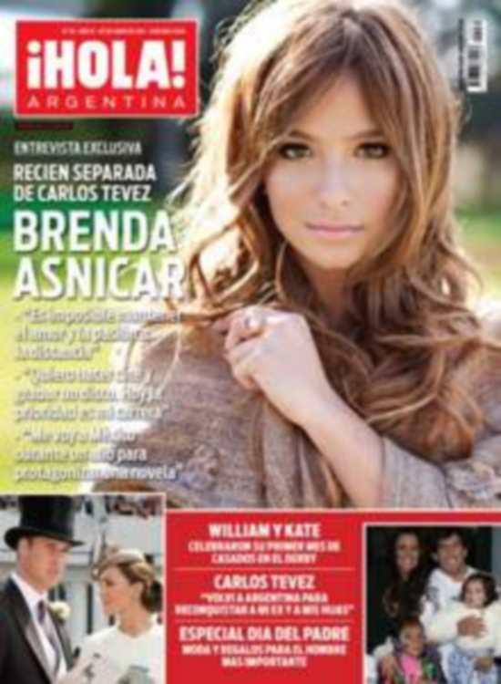 Wanda Nara Y Carlos Tevez Tapas De Revistas Noticu Ntalo