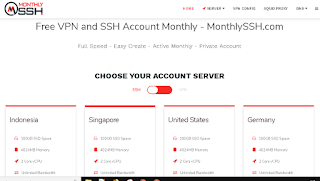 Cara Membuat Akun SSL/TLS Premium 1 Bulan Secara Gratis