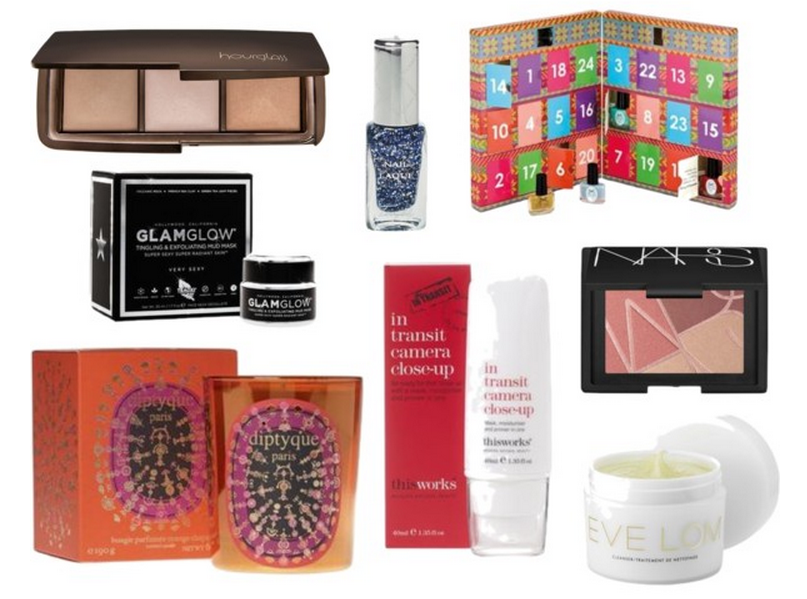 In my Space NK basket - goodie bag including £50 gift card