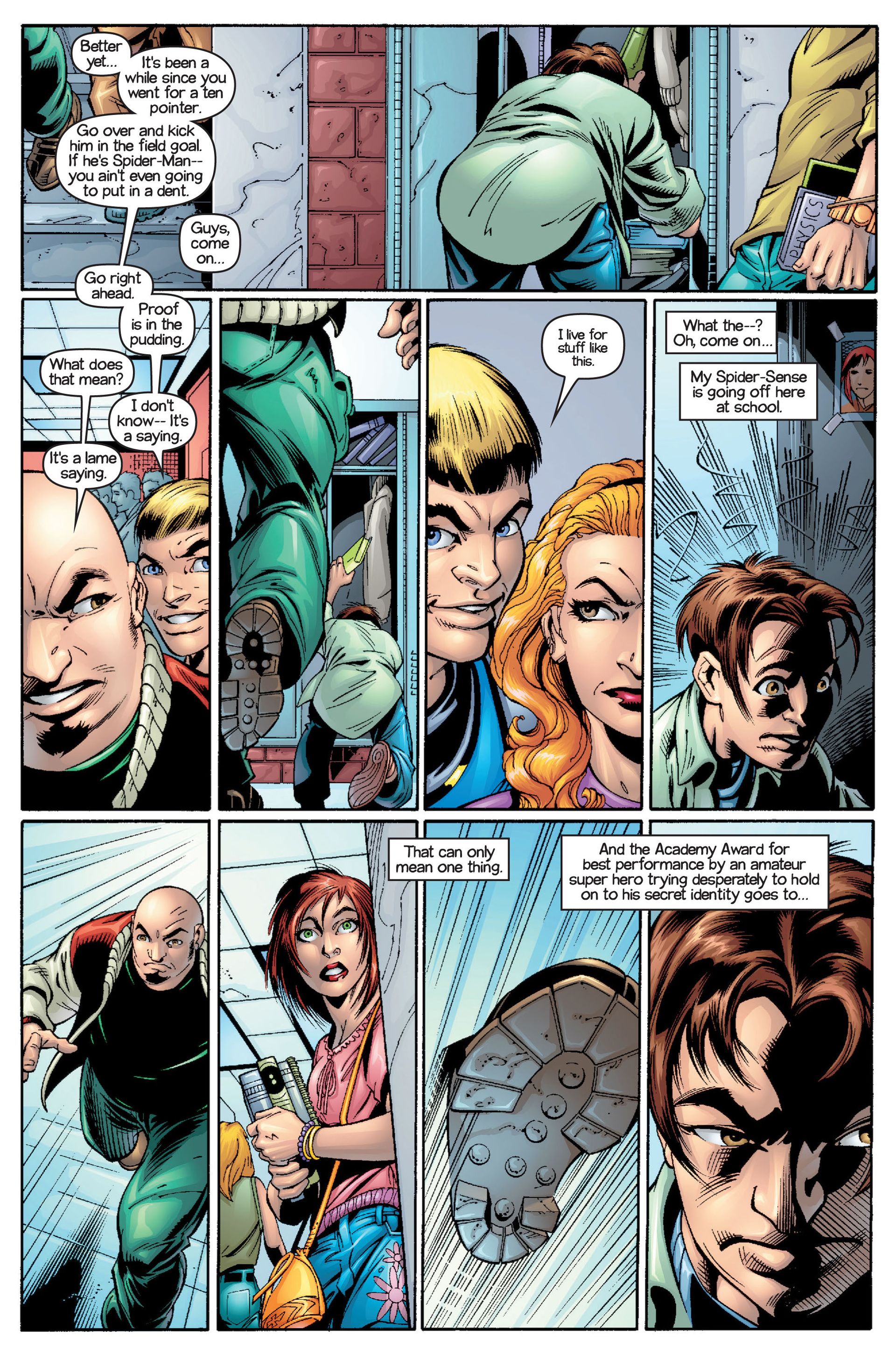 Read online Ultimate Spider-Man (2000) comic -  Issue #15 - 9