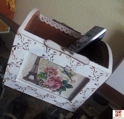 reciclar caja album -fotos