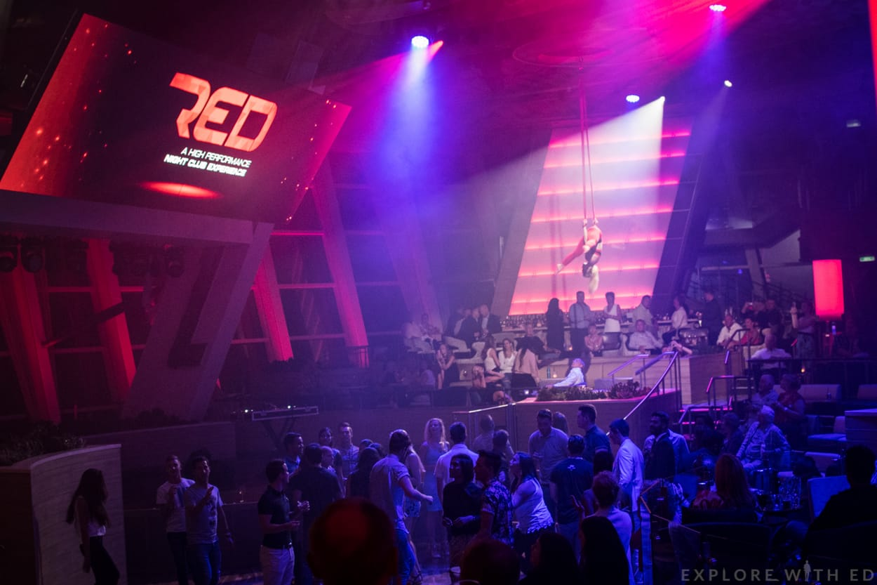 Red nightclub Two70, Anthem of the Seas