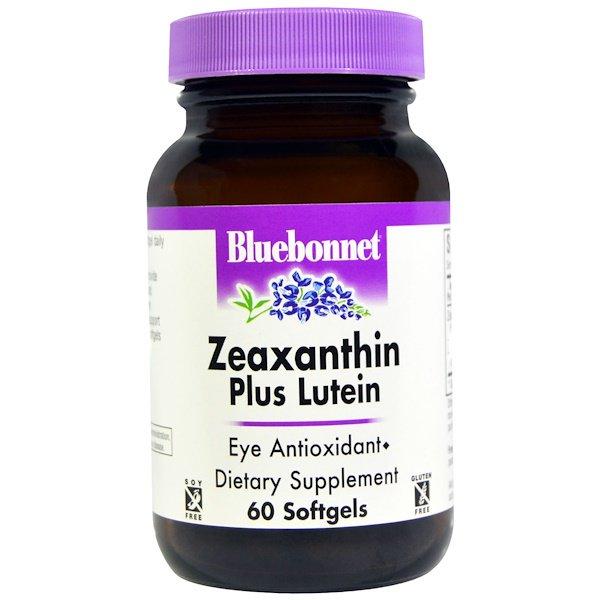 Bluebonnet Nutrition - Zeaxanthine plus Lutein