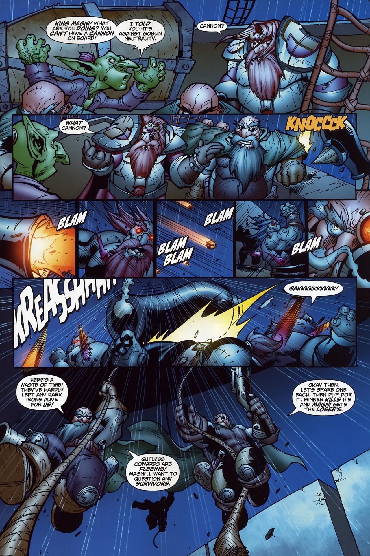 Read online World of Warcraft comic -  Issue #10 - 23