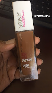 Maybelline SuperStay Foundation 360 Mocha.