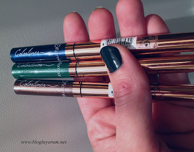 Renkli Likit Eyeliner Flormar Colorliner 2