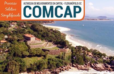 Apostilas da  Comcap SC - Concurso Autarquia de Melhoramentos da Capital 2019