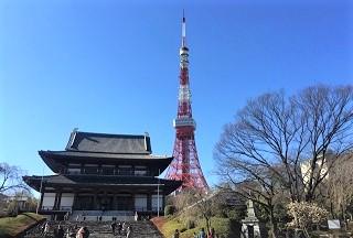 年金積立 Jグロースを競合する投信と比較(東京タワーと増上寺) Tokyo Tower and Zojoji Temple