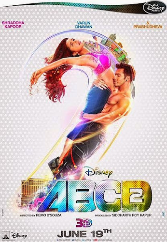 ABCD - Any Body Can Dance 2 (2015) Movie Poster No. 1
