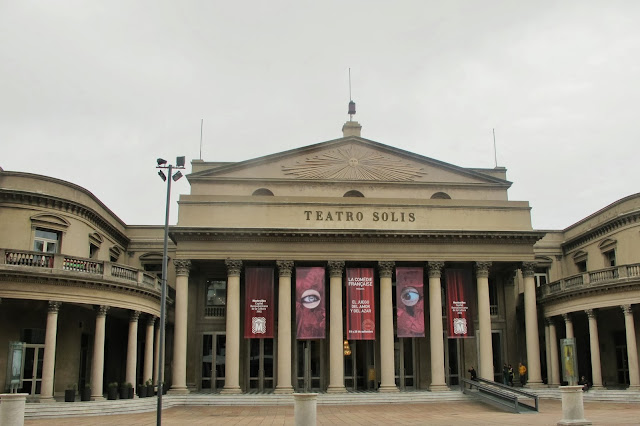 Teatro Solis, em Montevideo, capital do Uruguai