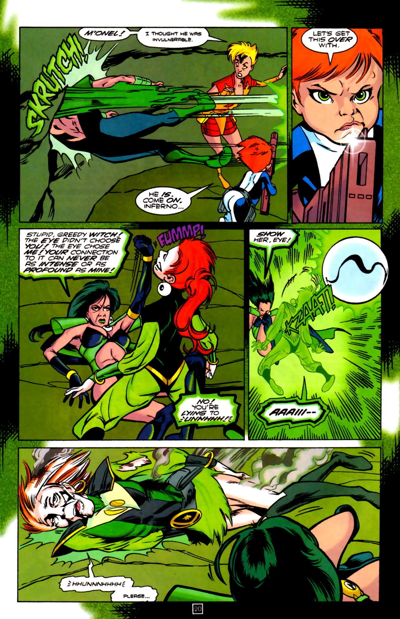 Legion of Super-Heroes (1989) 84 Page 18