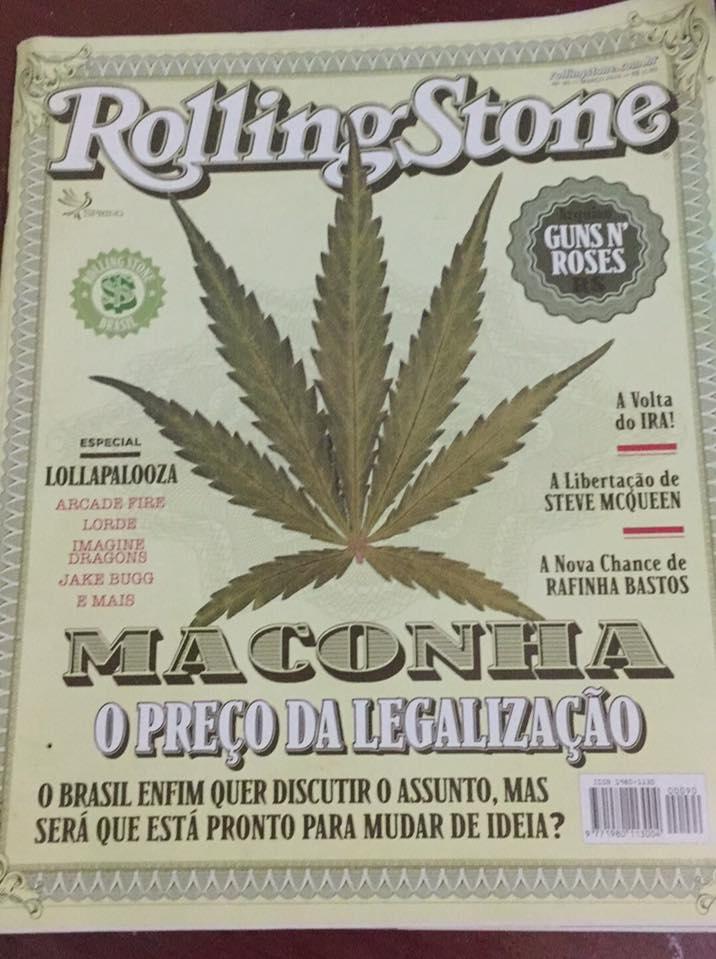 Rolling Stone: O PREÇO DA LEGALIZAÇÃO