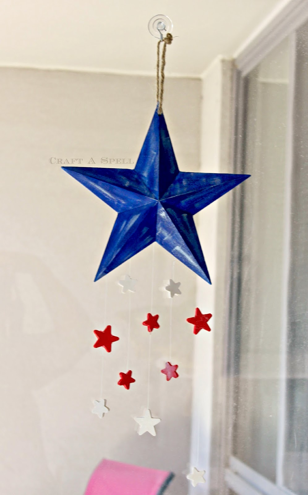 Craft A Spell: Patriotic Star Mobile