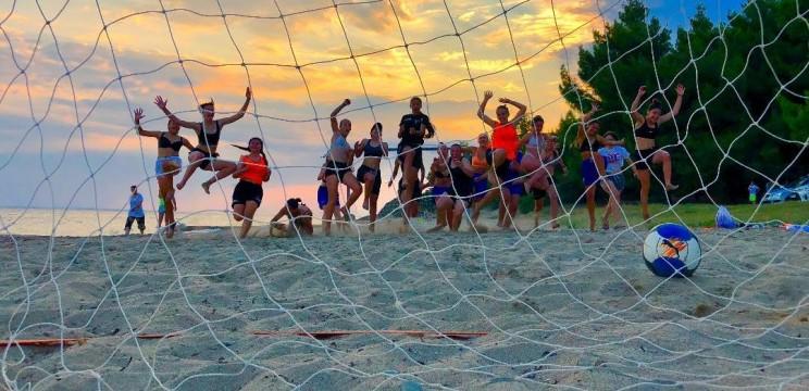 Για δεύτερη χρονιά το ποδοσφαιρικό καμπ αποκλειστικά για κορίτσια στη Μεταμόρφωση Χαλκιδικής