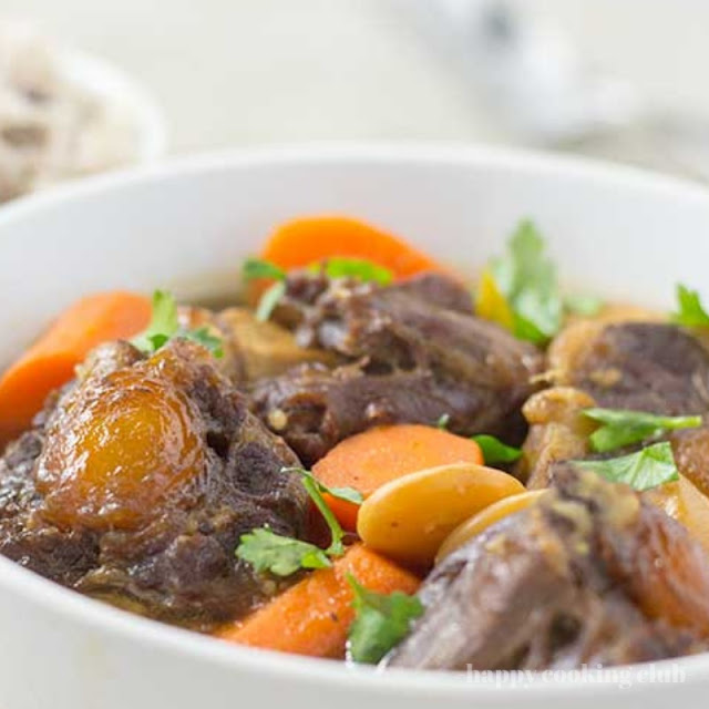 Perfect Pressure Cooker Oxtail Stew