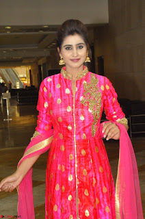 Shamili in Pink Anarkali Dress 15.JPG