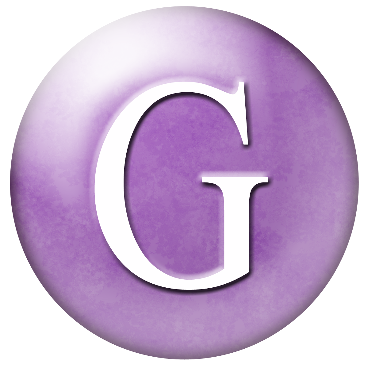 The gallery for --> Purple Letter G