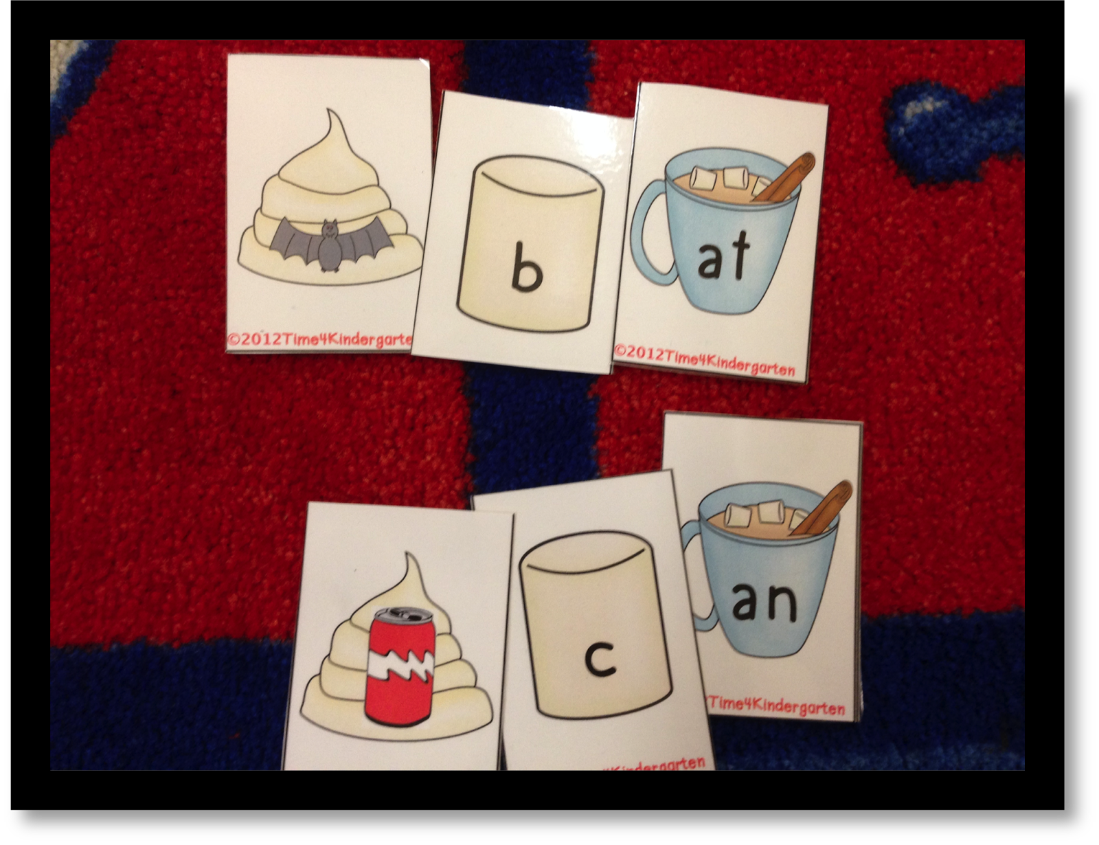 word families, the mitten, winter literacy centers