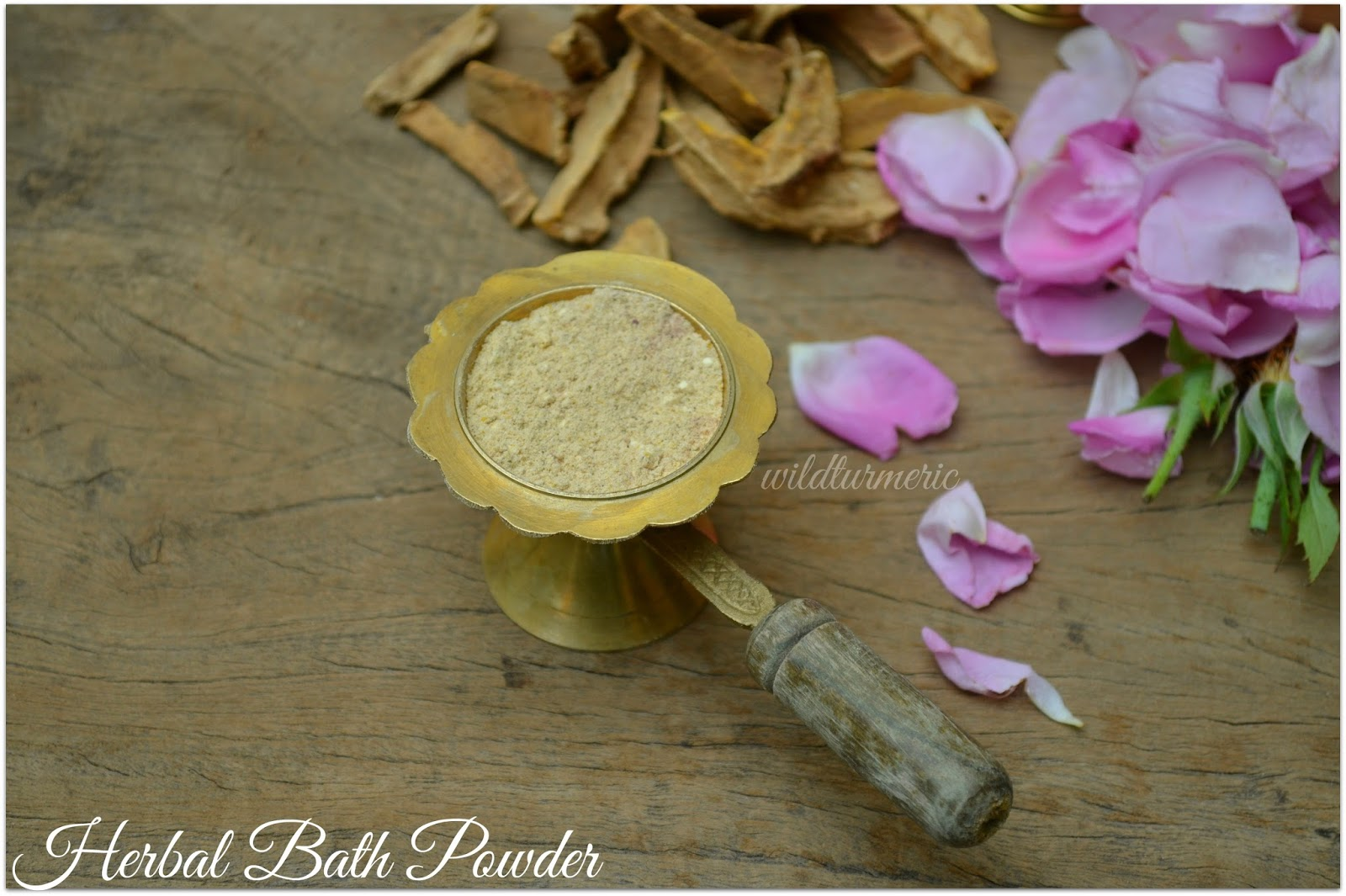 How To Make Ayurvedic Bath Powder At Home