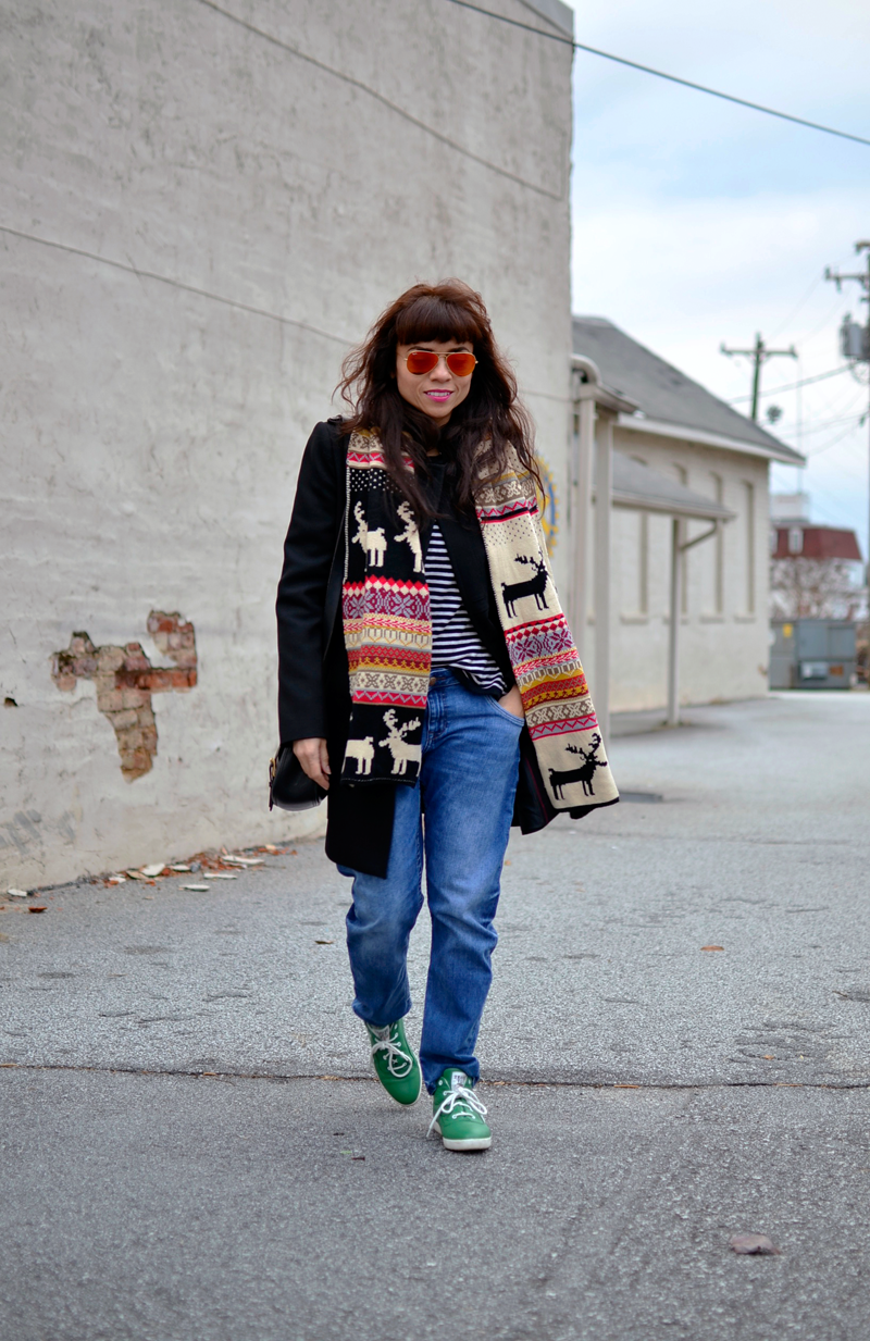 How to wear Fair Isle print