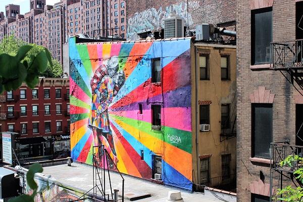 Guide till street art i New York