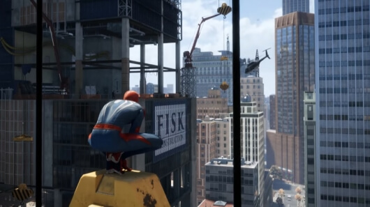 spiderman screenshot gameplay