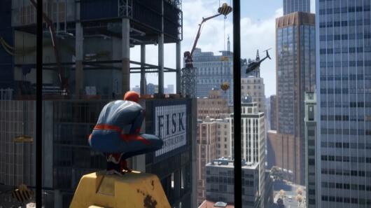 spiderman screenshot gameplay