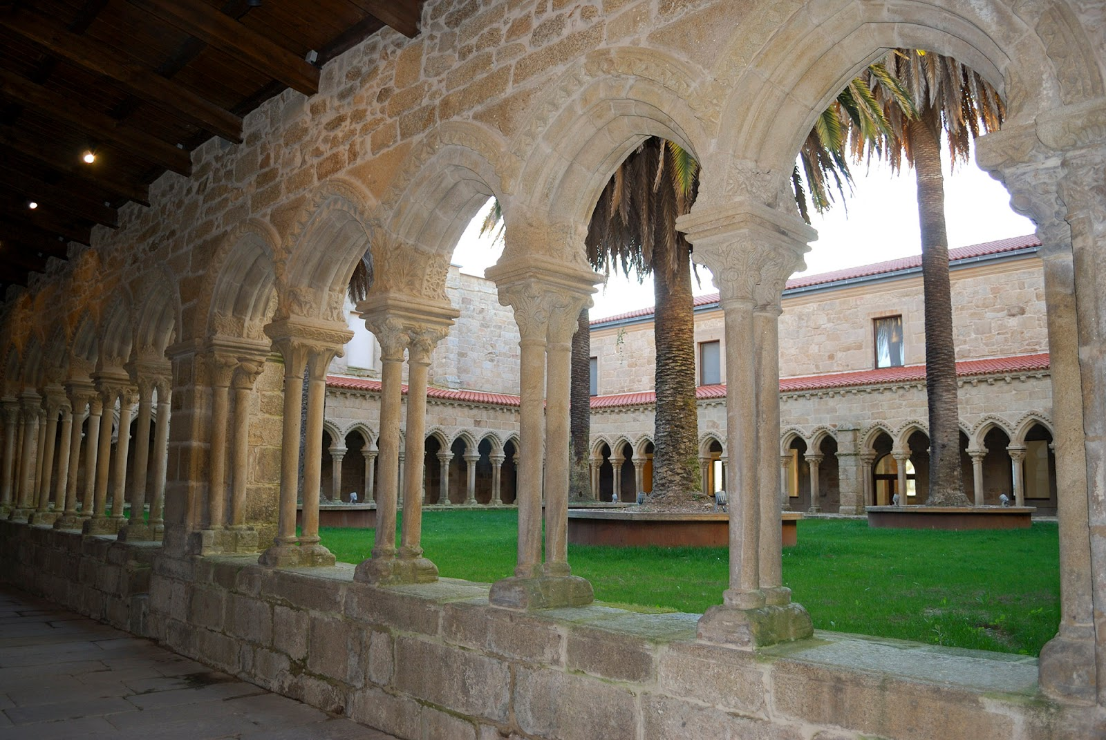 galicia spain ourense thermal spring city cloister