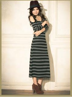 Conh Baju Dress Panjang Kaos Model Terbaru