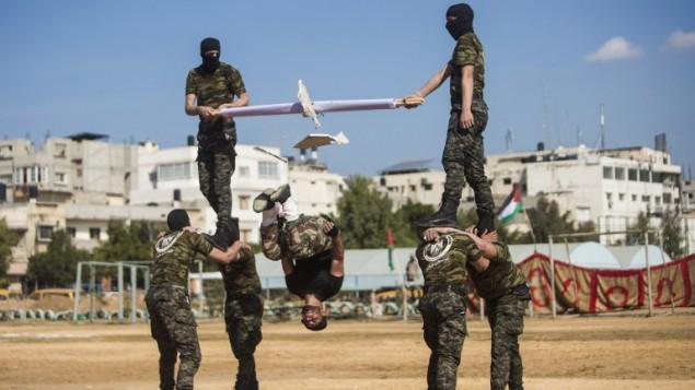 Graduación militar de Hamas