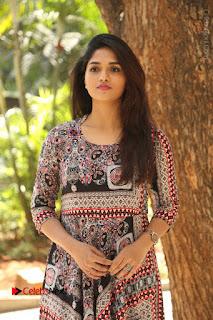 Actress Sunaina Latest Stills in Floral Dress at Pelliki Mundu Prema Katha Trailer Launch  0010.JPG