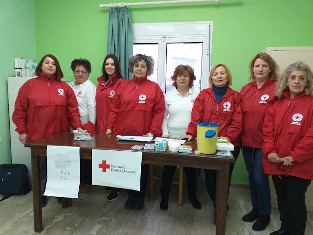 Εθελοντές του Ε.Ε.Σ Άργους συμμετείχαν στο Πρόγραμμα πρόληψης και προαγωγής υγείας ευπαθών ομάδων