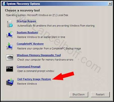 Restore Dell Laptop To Factory Settings