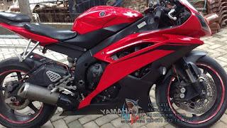 RAJA MOGE BEKAS : Dijual Yamaha R6 2009 KM 1000 (NP ya...)