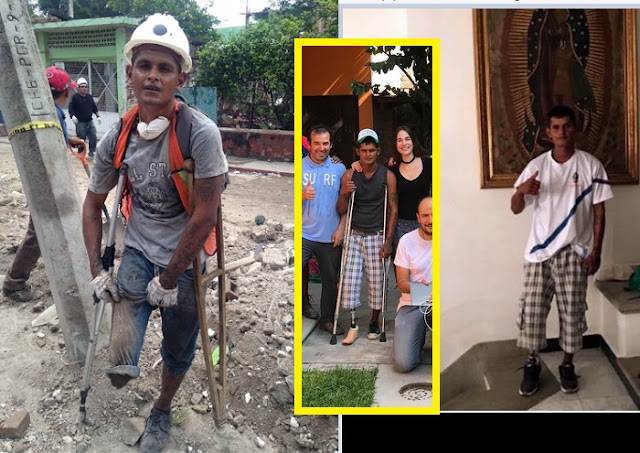Héctor de Jojutla es premiado, ahora ya tiene una prótesis y recibe tratamiento contra sus adicciones