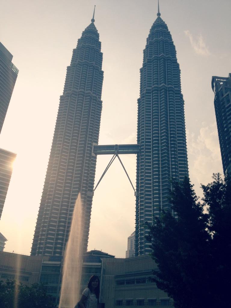 Klcc And Suria Klcc Kuala Lumpur Malaysia